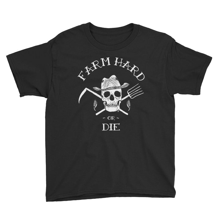 Youth Short Sleeve T-Shirt - Farm Hard or Die
