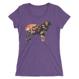 Artist Series by FHoD - Ladies' short sleeve t-shirt - Sheep - Farm Hard or Die