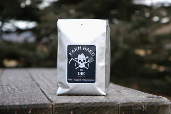 Freshly Roasted FTO Bad Dog Dark Roast Coffee - Farm Hard or Die