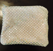 SEQUINS ZIPPER POUCH