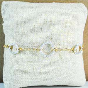 Beaded Floating Bracelet