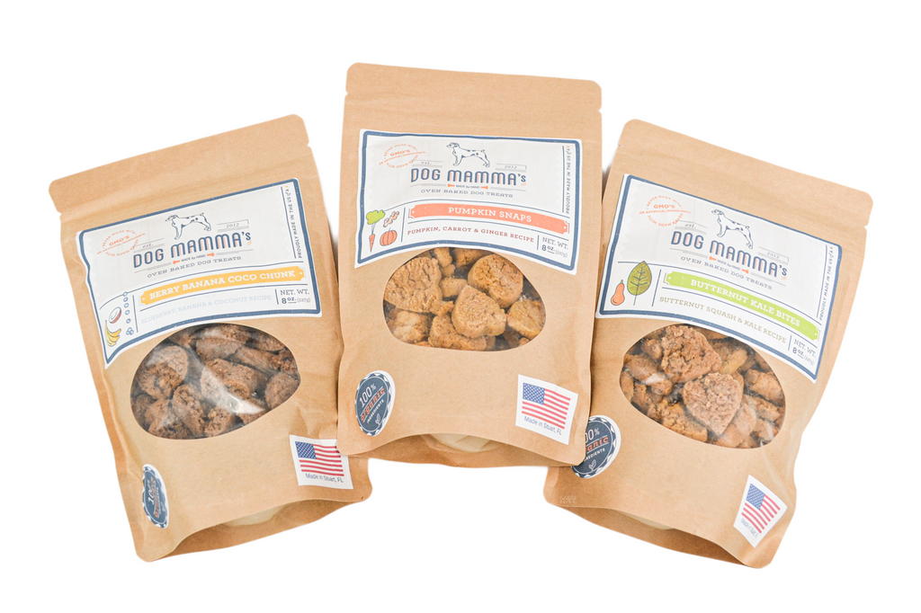Dog Mamma's Oven Baked Dog Treats