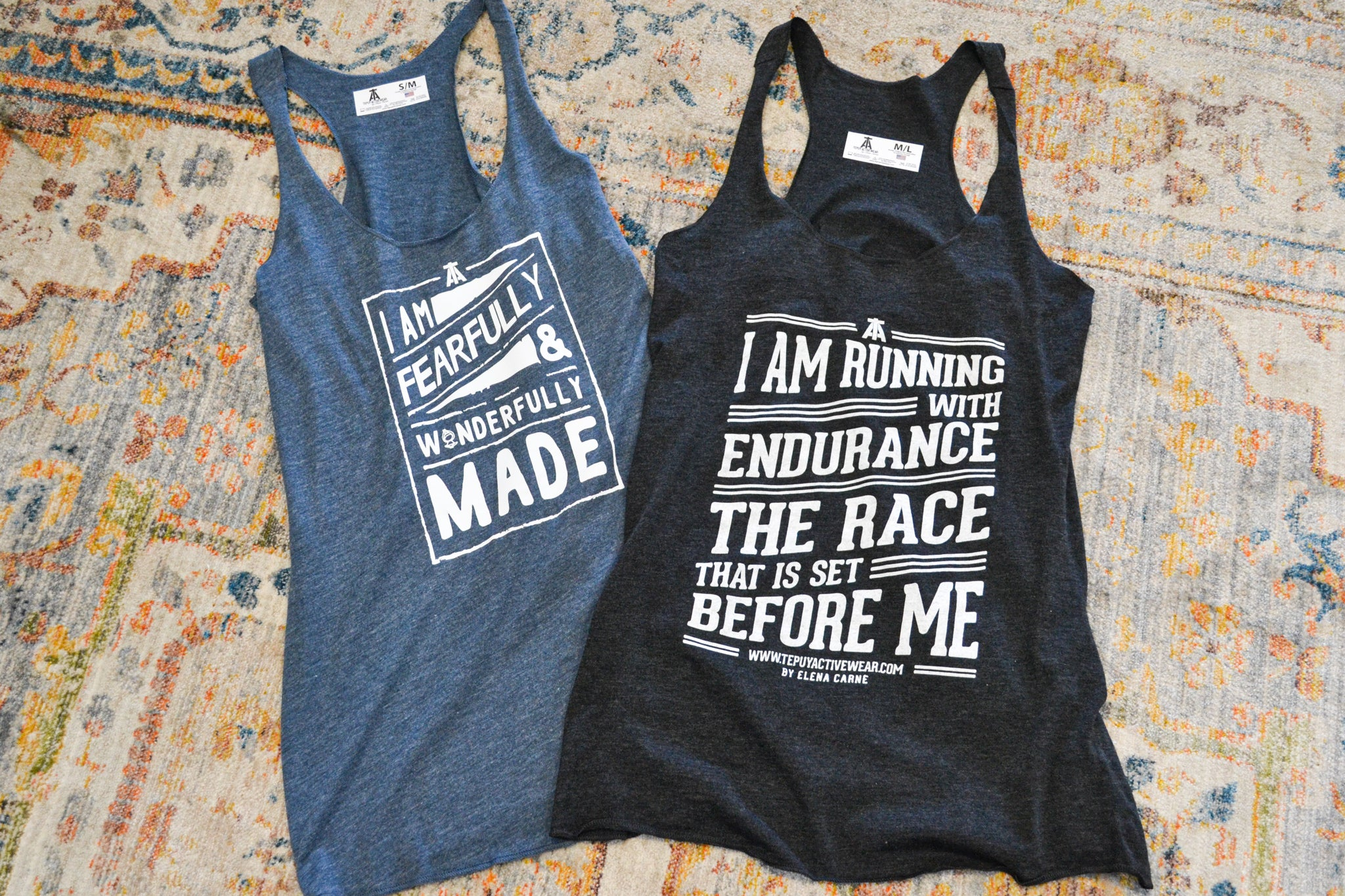 """Fearfully & Wonderfully Made"" Tank Top"