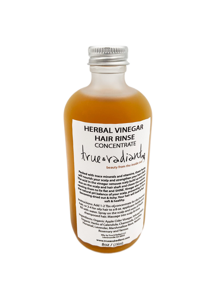 Herbal Vinegar Hair Rinse Concentrate