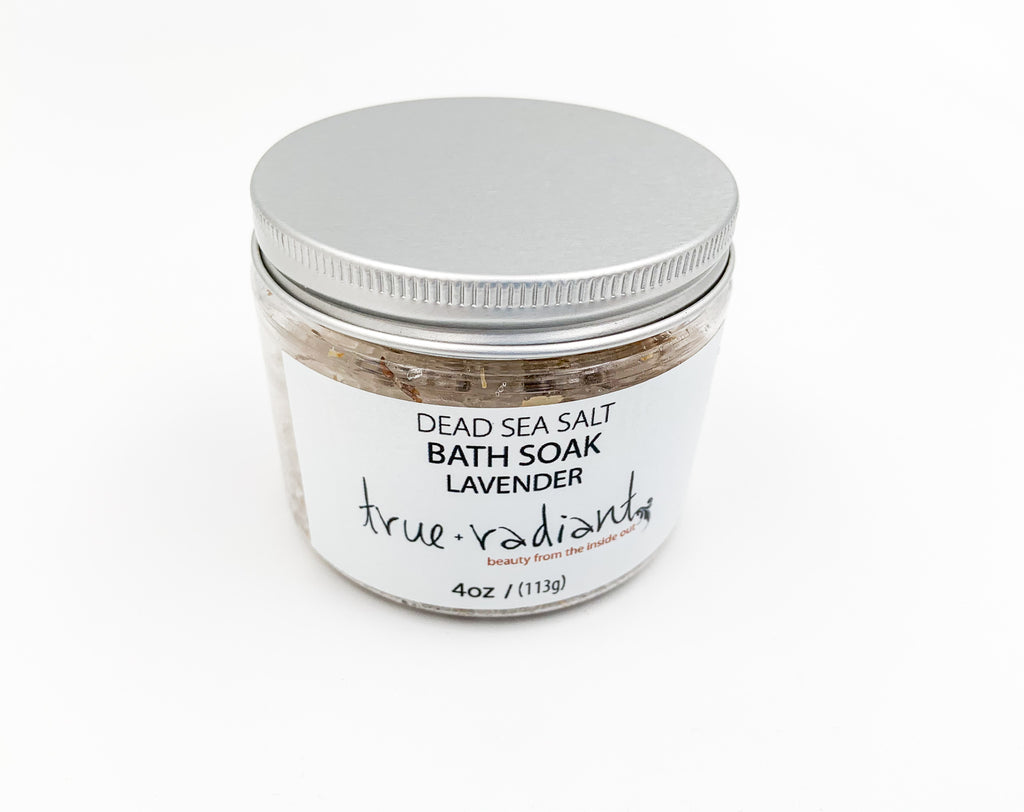 Dead Sea Salt Bath Soak - Lavender
