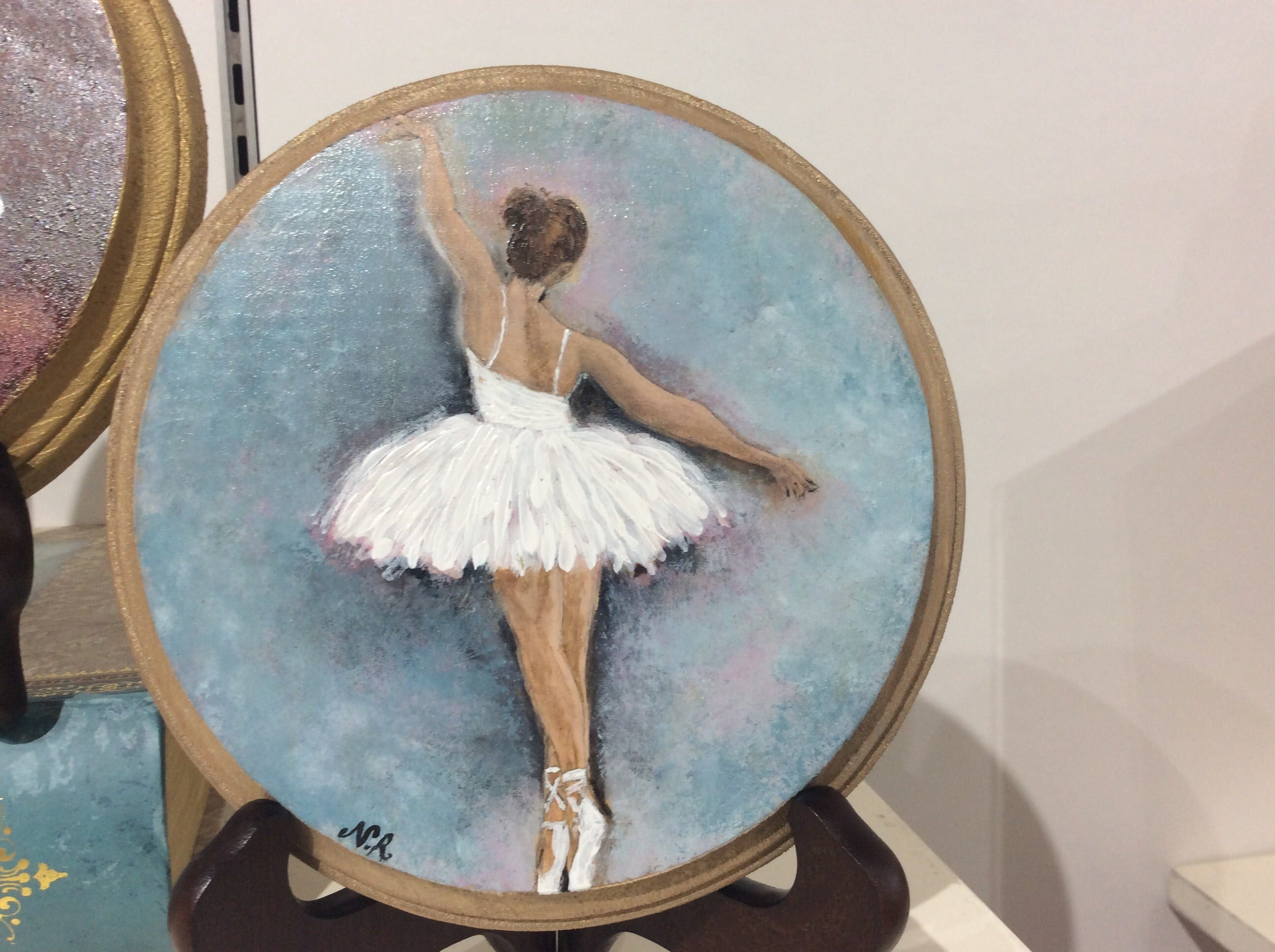 Ballerina ( Gold Blue White)