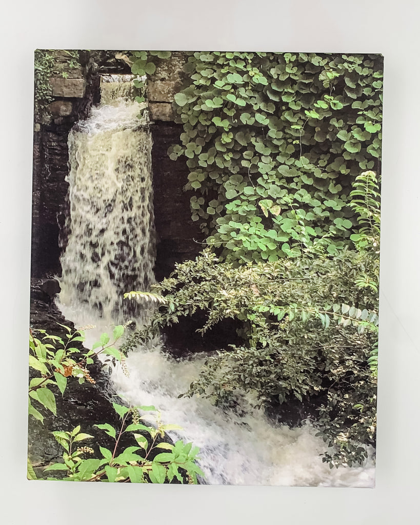 """Waterfall"" Photography on Canvas"