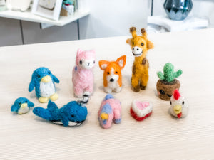 Felt Animals Small