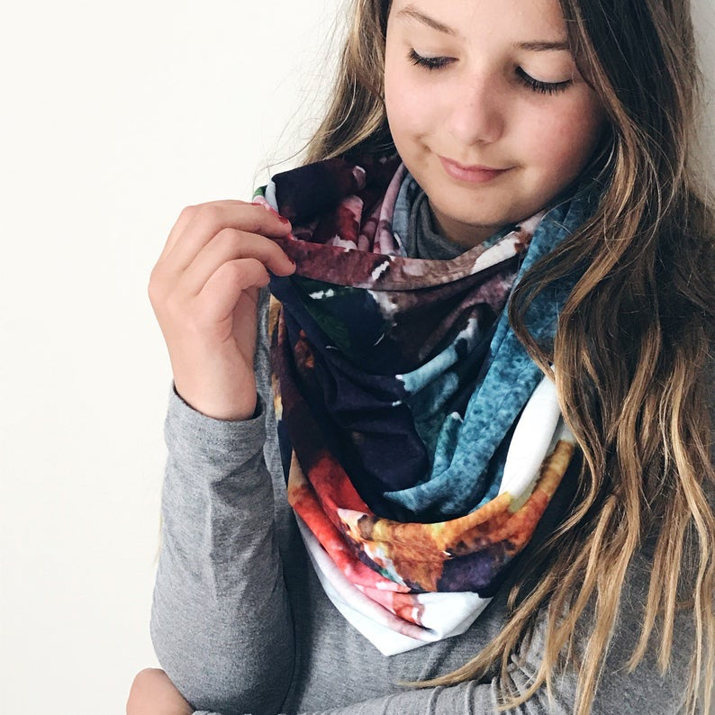 """Neveah"" Art Scarf"