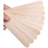 Professional Wooden Waxing Spatulas for Hard Wax Beans