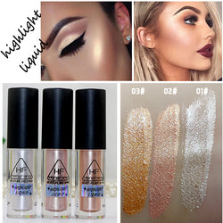 Face Brightener Highlighter Shimmer Stick HengFang Glitter Liquid Highlighter