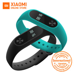 Global Version Xiaomi Mi Band 2 miband 2 Smartband OLED display touchpad heart rate monitor Bluetooth 4.0 fitness tracker (Black Friday Cyber Monday Discount)