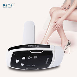 Kemei Epilator Photon Laser Body Hair Removal Depilatory Shaver Razor Device for Women (EU Plug)