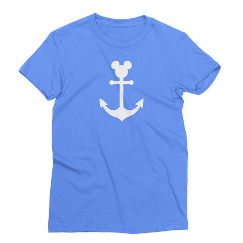 Anchor Design - Mickey Cruise t-shirt (kids, mens & ladies sizes available)