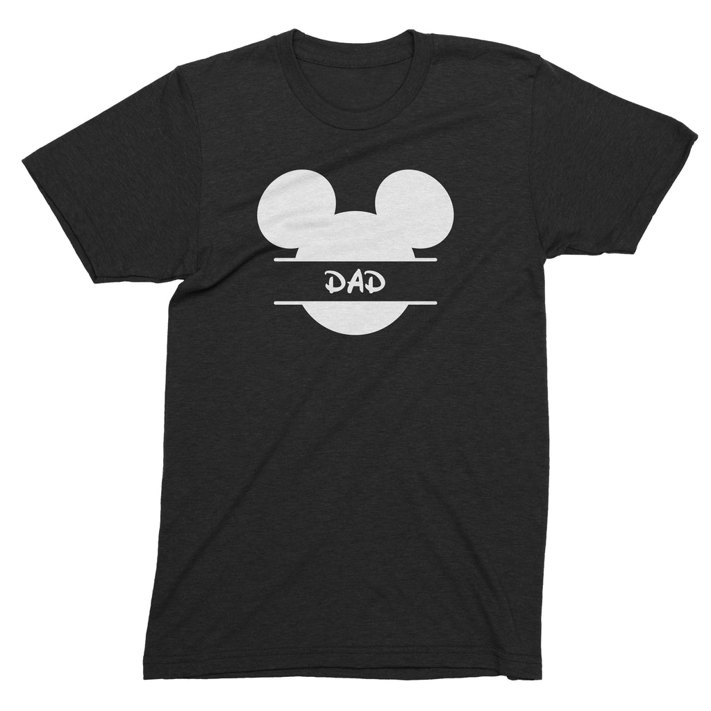 Personalised Mickey Head Family T-Shirts (kids, mens & ladies sizes available)