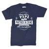 Image of They call me PERSONALISED because Partner in Crime makes me sound like a bad influence - Navy T-Shirt