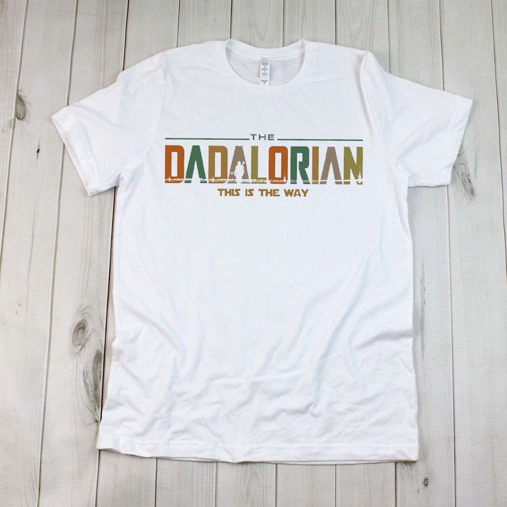 The Dadalorian White T-Shirt