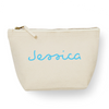 Image of Personalised Canvas Wash Bag - #summerready