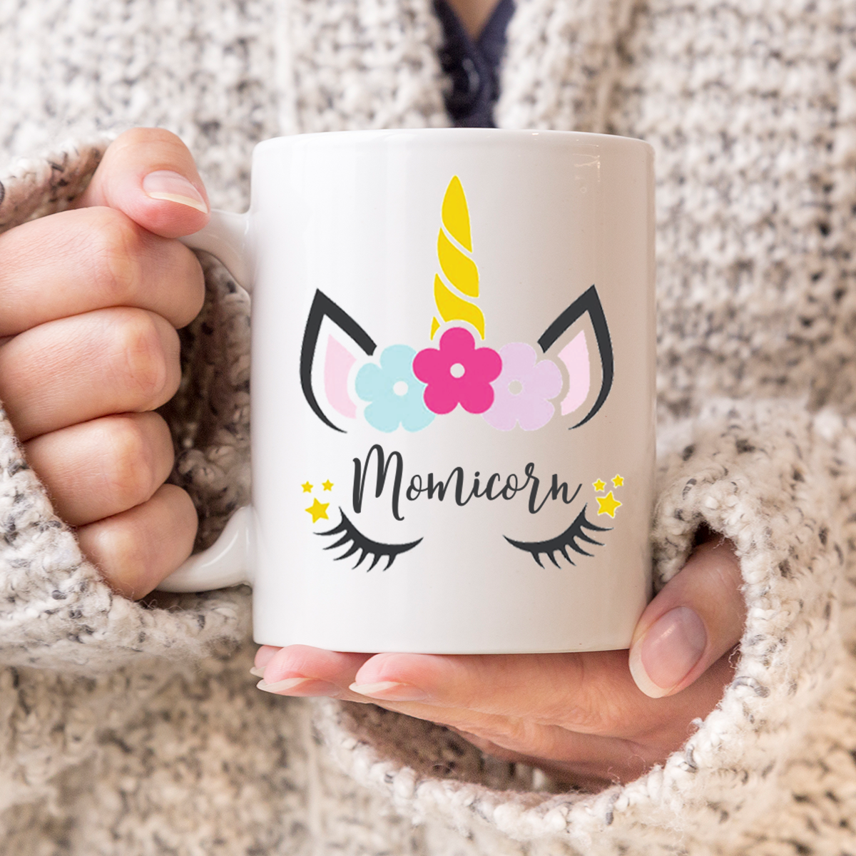 Personalised Unicorn coffee/tea Mug.