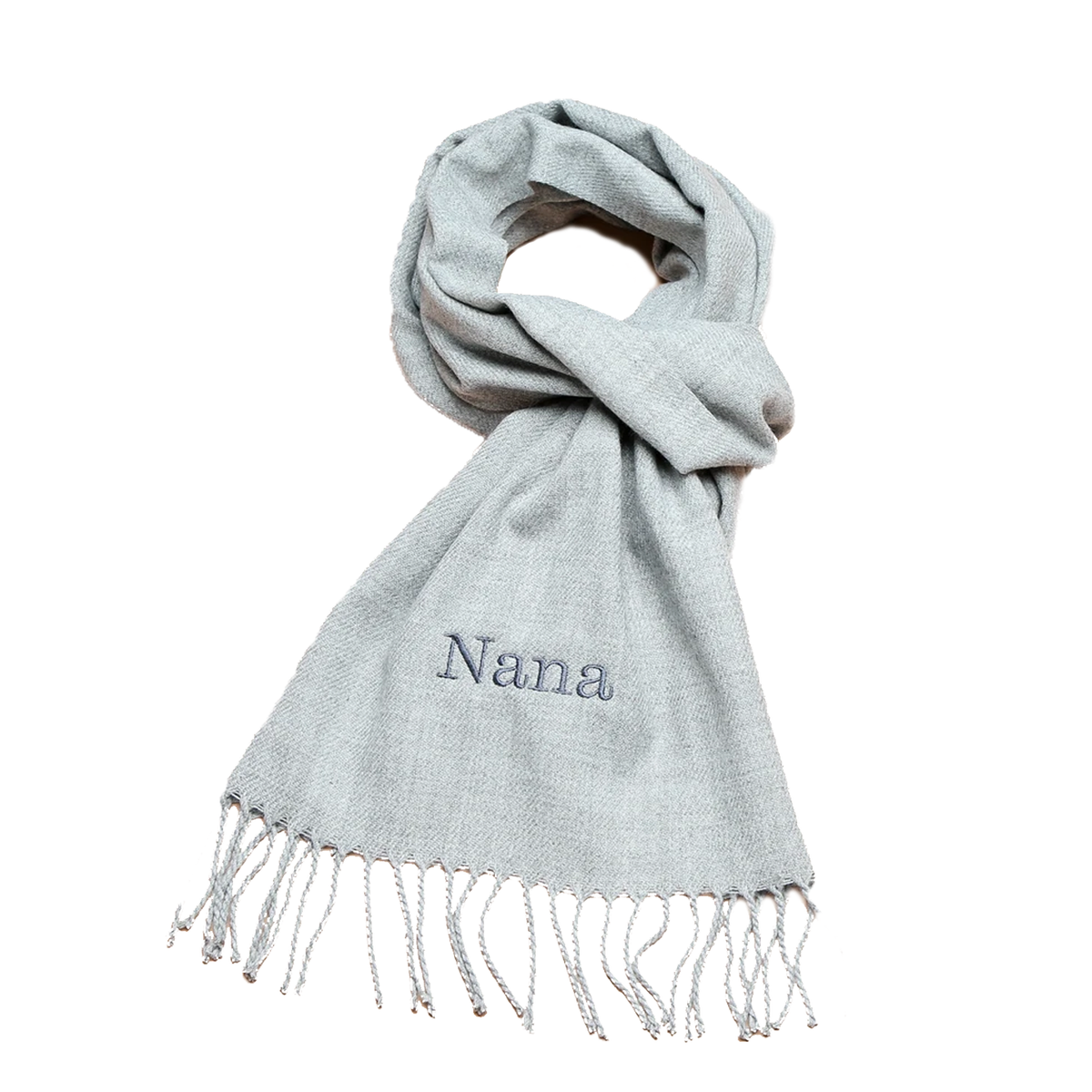 Personalised Embroidered Woven Scarf - 4 great colours to choose from!