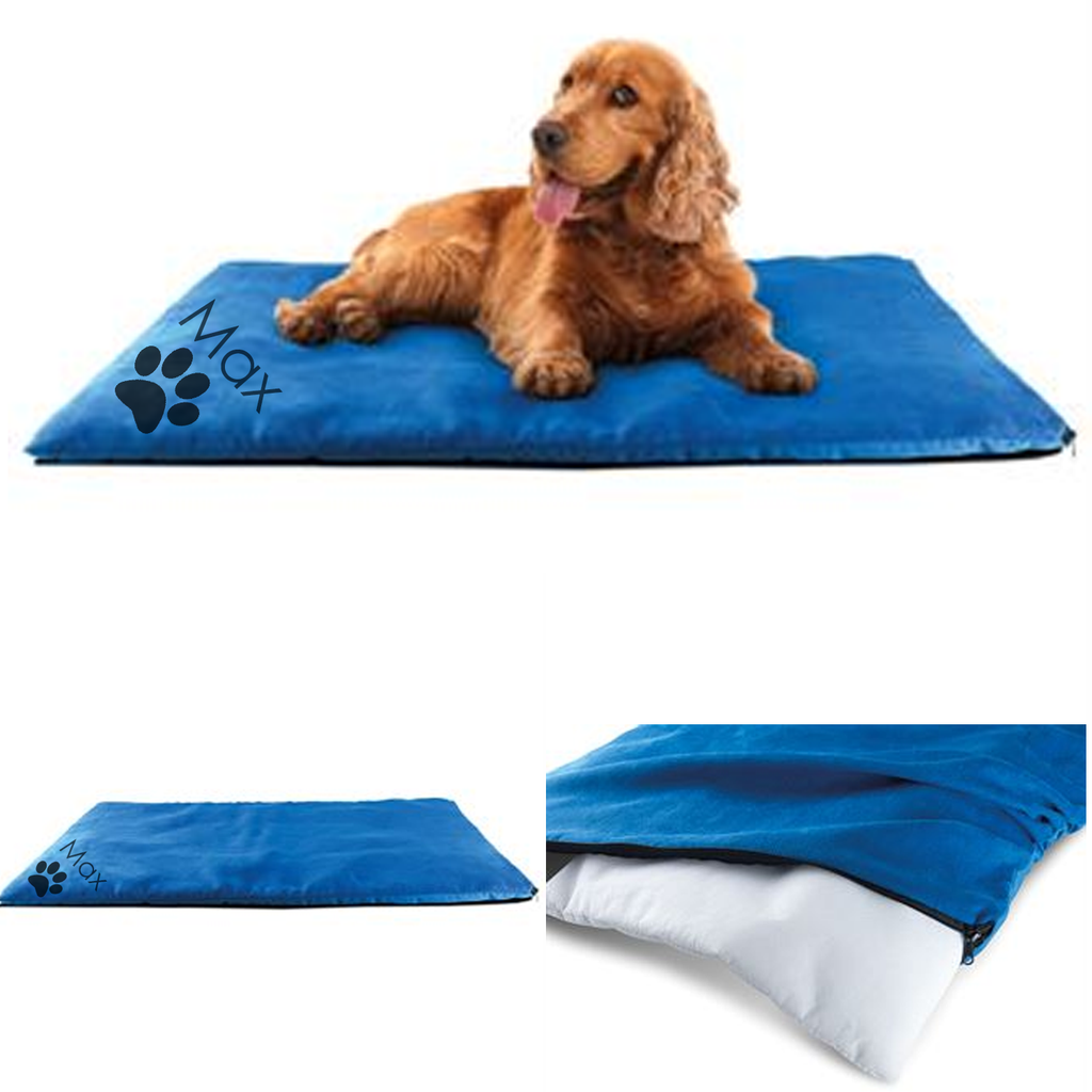 Personalised Dog Bed - in a range of 3 colours.