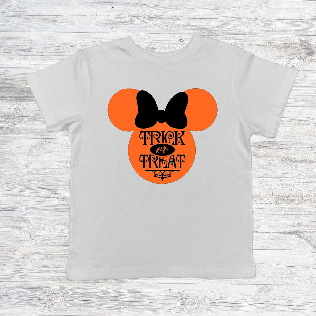 Trick or Treat Minnie Mouse Head (kids, mens & ladies sizes available)