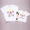 Image of Mumicorn Unicorn white t-shirt - Personalised options!