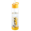 Image of Personalised Fruit Infuser Water Bottle - Yellow/Clear