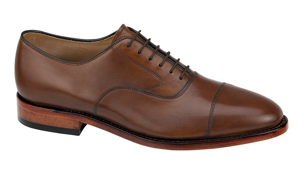Melton Cap toe - Tan Italian