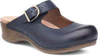 MARTINA SLIP-ON - NAVY BURNISHED NUBUCK 9402-751400