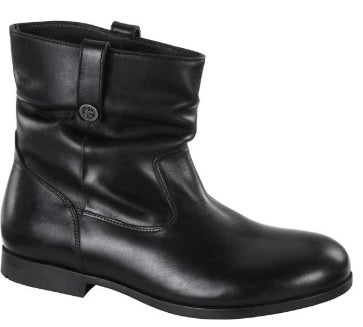 SARNIA - BLACK LEATHER BOOT - 1010599 (Regular)