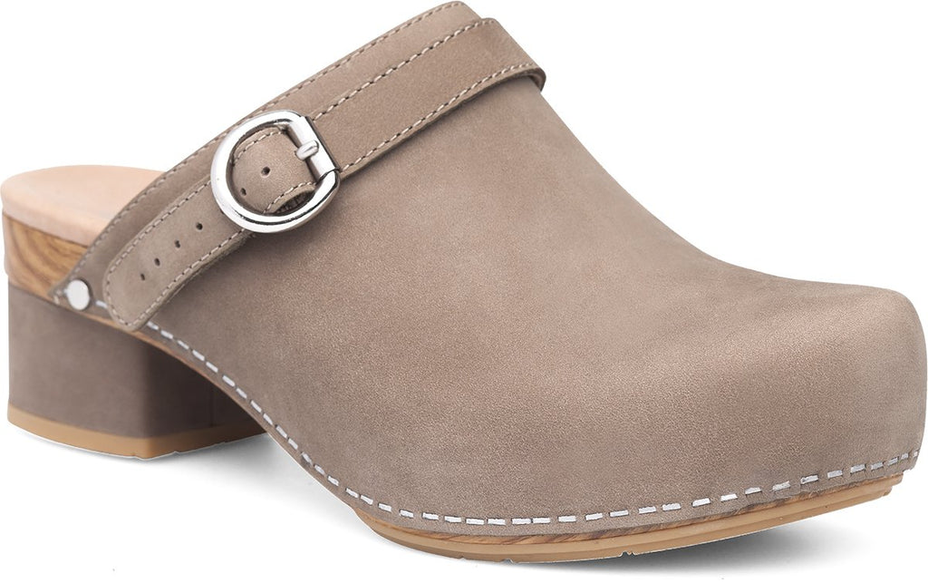 MARTY CLOG - TAUPE MILLED NUBUCK 3623-160600