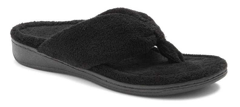 INDULGE GRACIE SLIPPER - BLACK