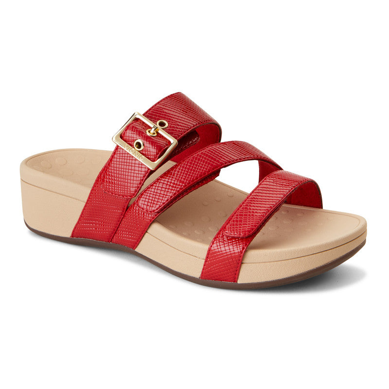 RIO PLATFORM WEDGE SLIDE - RED LIZARD
