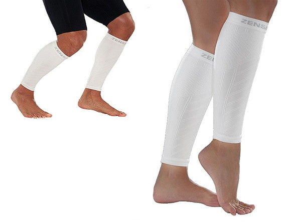 Zensah Fresh Legs - White COMPRESSION