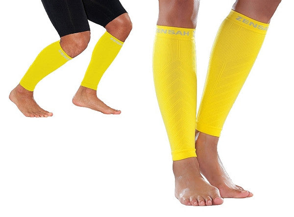 Zensah Fresh Legs - Yellow COMPRESSION
