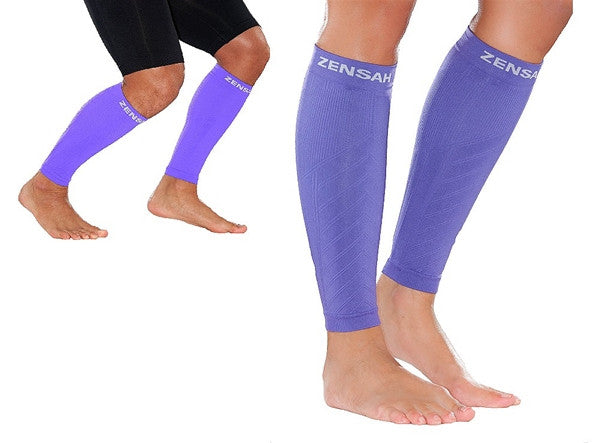 Zensah Fresh Legs - Purple COMPRESSION