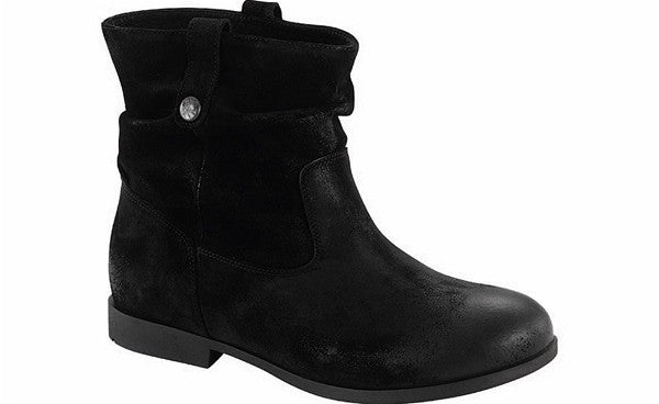 SARINA BOOT BLACK WAXED SUEDE - 1001333