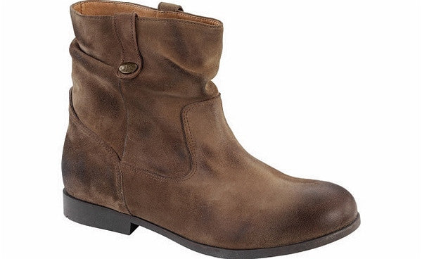 SARINA BOOT - TAUPE WAXED SUEDE  1001337