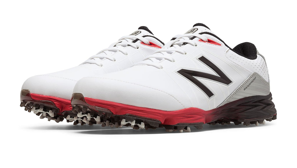 Golf Shoe - WHITE/RED - NBG2004WRD