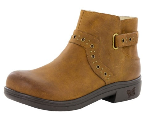 ZOEY ANKLE BOOT - WALNUT (ZOE-739)