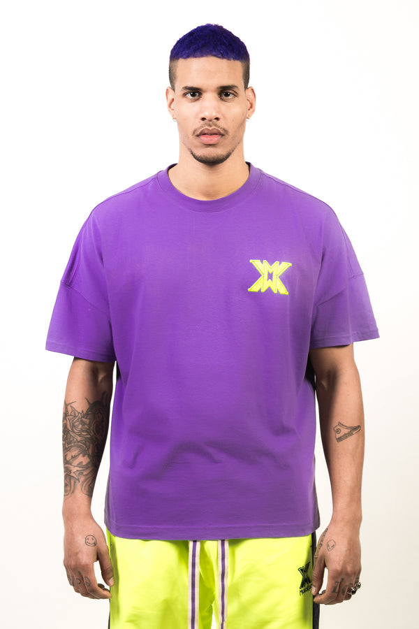 MUSO KUSO PURPLE SIGNATURE T-shirt