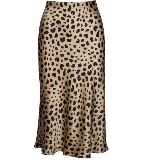 PRESALE Cheetah Midi Skirt