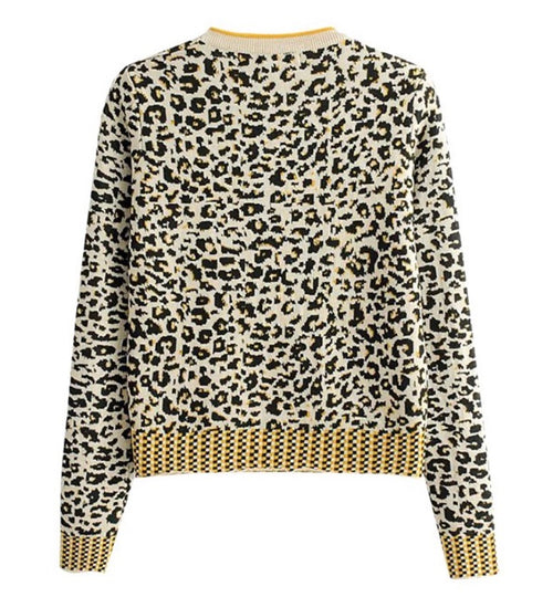 PRESALE Leopard Print Sweater