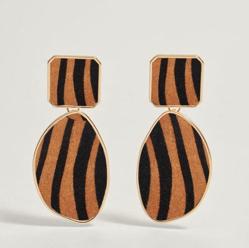 PRESALE Striped Retro Earrings
