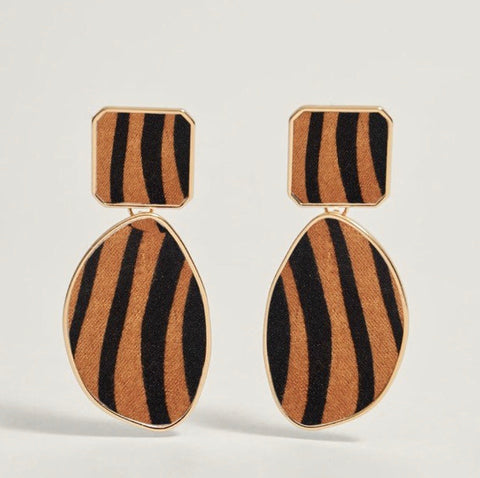 PRESALE Leopard Print Vintage Earrings