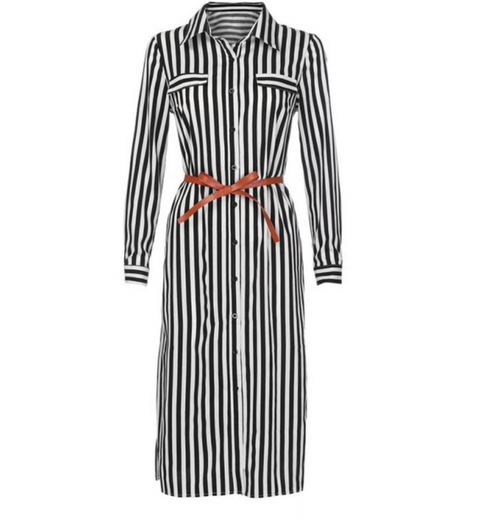 PRESALE Striped Midi Dress