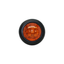 "3/4"" Amber LED Dual Function Clearance/Turn/Marker Bullet Light, 3 diodes"