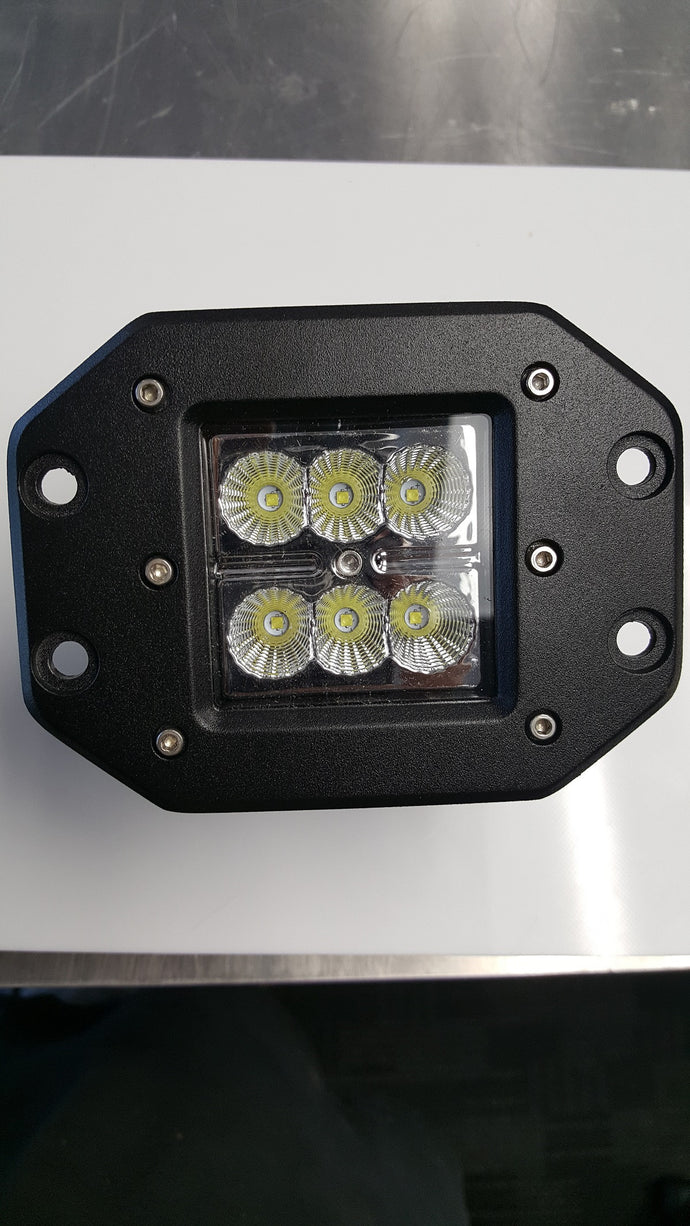 18 Watt Floodlight - Square Screw Mount