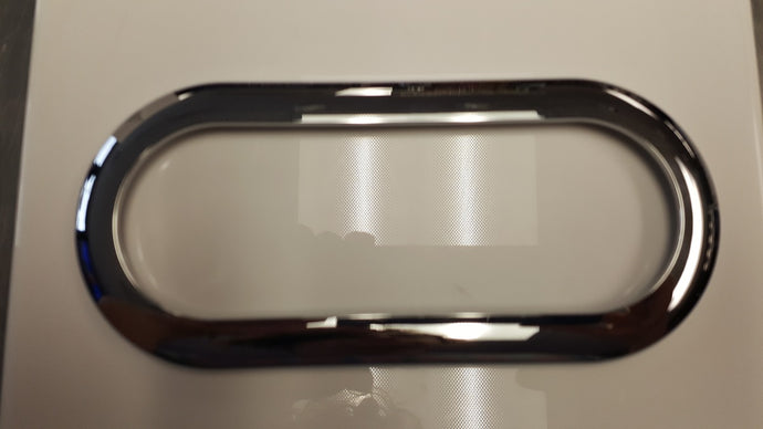 Chrome Bezel for 6'' Oval